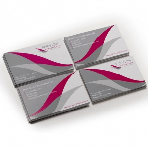 Paragon Aviation Custom Business Card Design