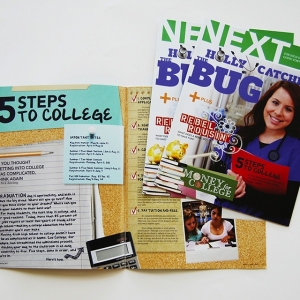 Magazine Design for Lee College