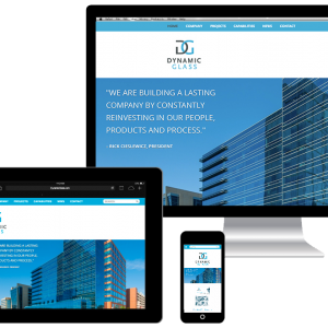 Responsive Web Design for Dynamic Glass