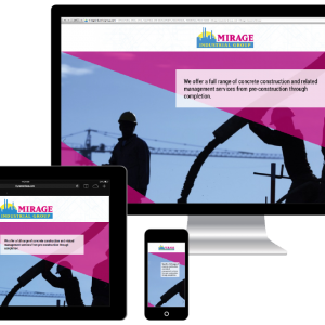 Responsive Website Design for Mirage Industrial Group