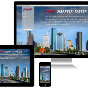 Responsive Website Design for Pulido Transport