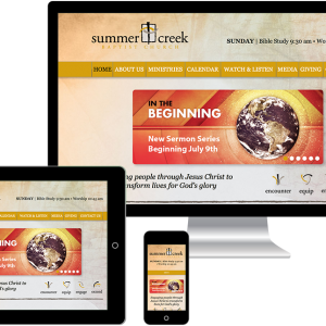Summer Creek Baptist Church website