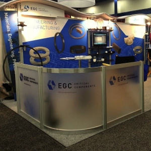 EGC Critical Components - Tradeshow Booth B2B