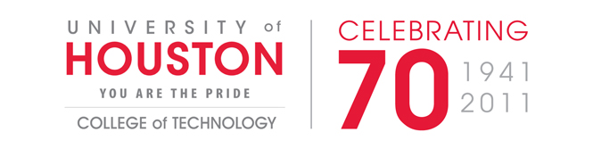 UofH-CollegeOfTechnology-70th-Logo