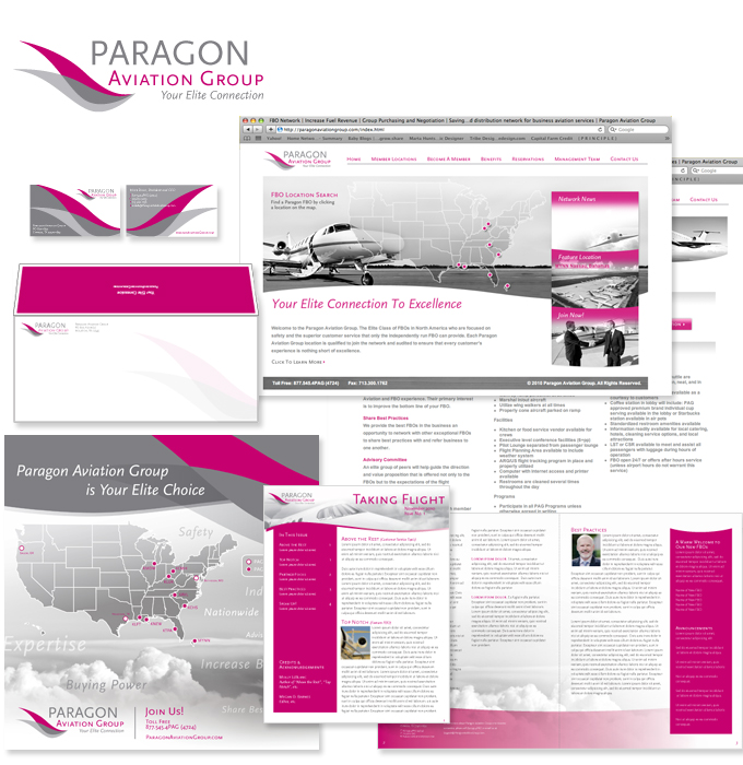 Branding-Paragon-Aviation-Group
