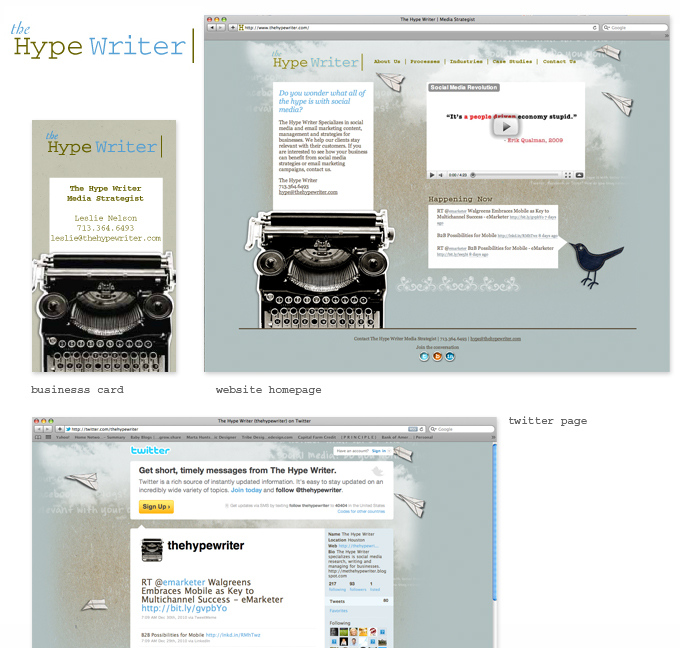 HypeWriter-Homepage