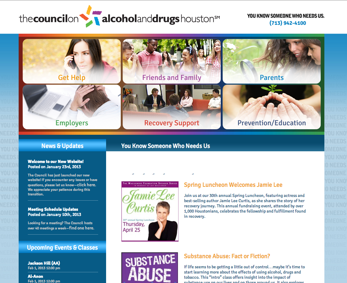 Council for Alcohol and Drugs Houston after